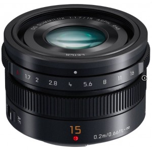 Объектив Panasonic Micro 4/3 Lens 15mm Black