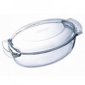 Гусятница Pyrex Classic Glass 5,8 л с крышкой 460A000